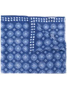 шарф с принтом Delloglio