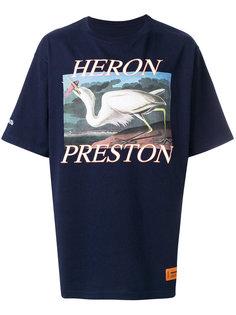футболка с принтом логотипа Heron Preston