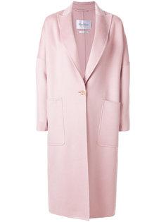 пальто с заостренными лацканами Max Mara