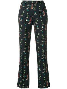 классические брюки с принтом акробатов Etro