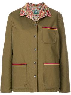 двухсторонняя куртка с принтом Etro