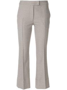 укороченные классические брюки Akris Punto