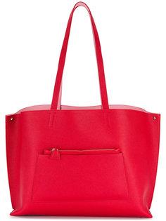 объемная сумка-тоут Akris