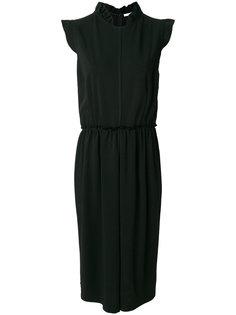 платье с оборочным воротником Givenchy