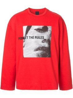 Forget The Rules sweatshirt  Juun.J