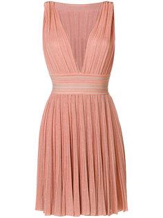 платье мини с глубоким вырезом  Antonino Valenti