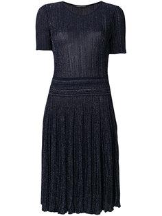 блестящее плиссированное платье Antonino Valenti
