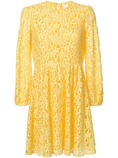 платье из цветочного кружева Dondup