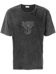 футболка с принтом Y Saint Laurent