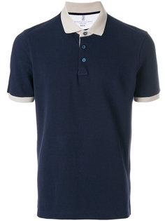 футболка-поло классического кроя Brunello Cucinelli