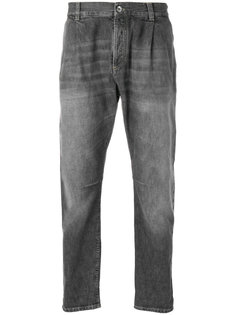джинсы прямого кроя с завышенной талией Brunello Cucinelli