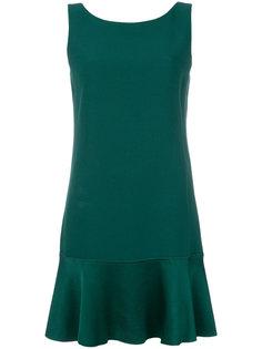 платье мини с баской  Theory
