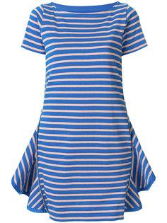 платье-футболка в полоску Sacai