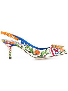 туфли с ремешком на пятке Bellucci  Dolce & Gabbana