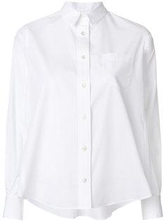 рубашка в форме трапеции Sacai