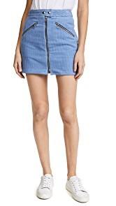 Rag & Bone/JEAN Racer Skirt
