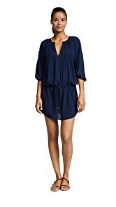 ViX Swimwear Midnight Sara Caftan