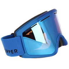 Маска для сноуборда Von Zipper Cleaver Mono Blue/Sky Chrome