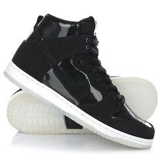 Кеды кроссовки высокие Nike Sb Zoom Dunk High Pro Black