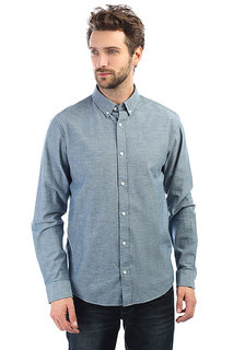 Рубашка Carhartt WIP Kyoto Shirt Blue(Stone Washed)