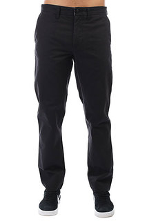 Брюки прямые Carhartt WIP Johnson Pant Black(Rinsed)