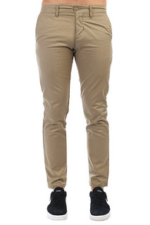 Штаны прямые Carhartt WIP Sid Pant Leather