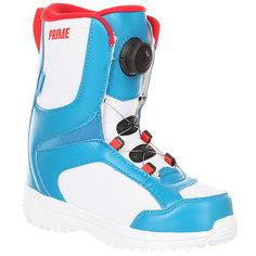 Ботинки для сноуборда детские Prime Come On Blue/White P.R.I.M.E.