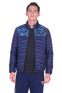Куртка Пуховая Anta Темно-синяя