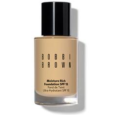 BOBBI BROWN Тональный крем увлажняющий СЗФ 15 Moisture Rich Foundation SPF 15 Beige (3)