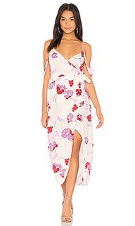 Платье с запахом floral - Bardot
