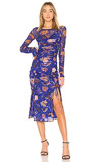 Платье в сеточку overlay - Diane von Furstenberg