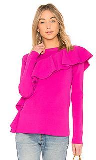 Пуловер ruffle front - Diane von Furstenberg
