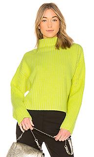 Пуловер в рубчик chunky - Diane von Furstenberg