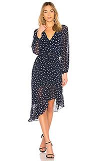 Платье с асимметричным подолом alithea - Joie