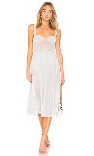 Прозрачное платье миди rina - MAJORELLE