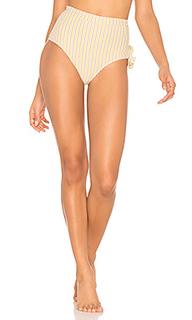 Плавки бикини с высокой талией - Peony Swimwear