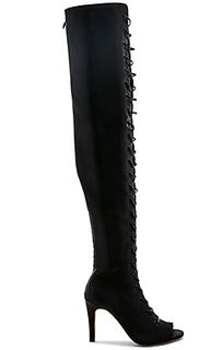 Ботфорты со шнуровкой tyson - RAYE