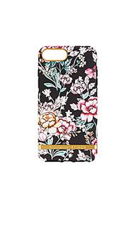 Чехол для телефона black floral - Richmond & Finch