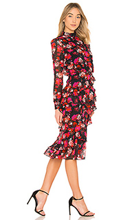 Платье ruffle isa - SALONI