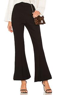 Черные брюки клеш leo - sen