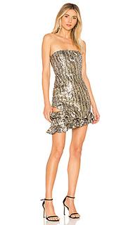 Асимметричное платье с декором yessy - X by NBD