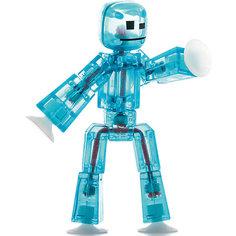 Игрушка-фигурка, синяя, Stikbot Zing