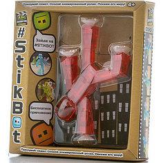 Игрушка-фигурка, красная, Stikbot Zing