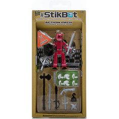 Фигурка с аксессуарами Оружие, Stikbot, серый Zing