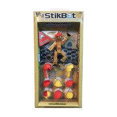 Фигурка с аксессуарами Прически, Stikbot, красный Zing