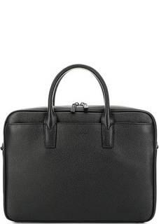 Кожаная сумка с отделением для ноутбука Lancaster
