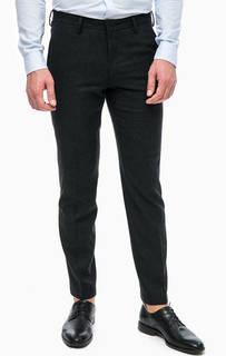 Шерстяные зауженные брюки Pierre Cardin
