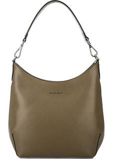 Кожаная сумка через плечо с длинной ручкой Coccinelle