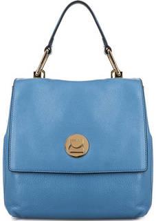 Кожаная сумка-рюкзак на замке Coccinelle
