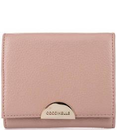 Кожаный кошелек с одним отделом для купюр Coccinelle